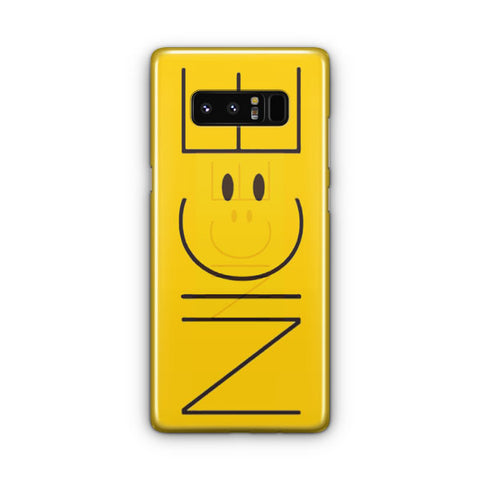 Cute Funny Yellow Nice Samsung Galaxy Note 8 Case