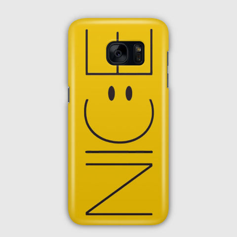 Cute Funny Yellow Nice Samsung Galaxy S7 Edge Case