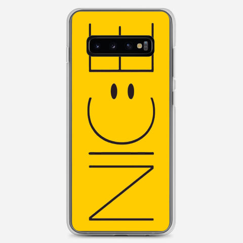 Cute Funny Yellow Nice Samsung Galaxy S10 Plus Case