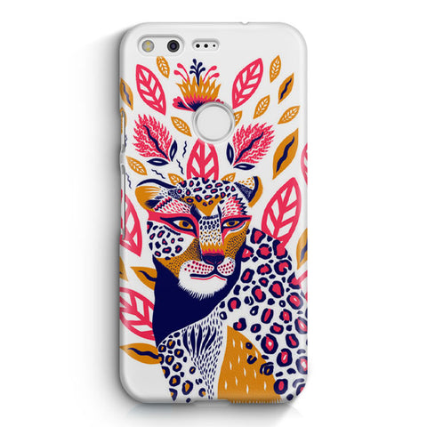 Cute Leopard Google Pixel XL Case