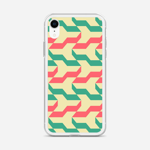 Absurd Preferred Pattern iPhone XR Case