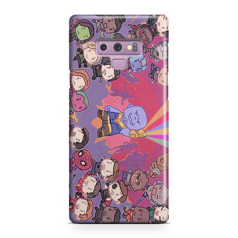 Cute Marvel Superhero Samsung Galaxy Note 9 Case