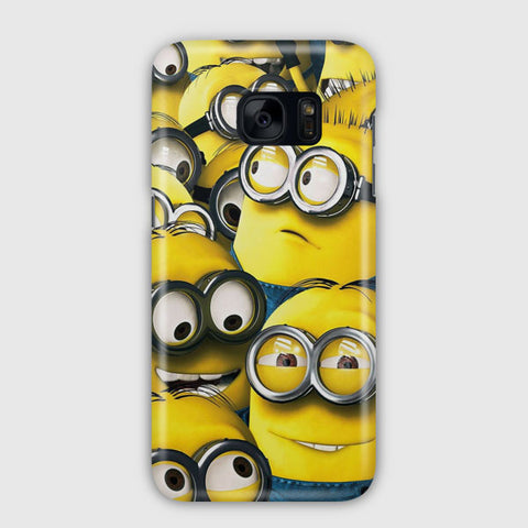 Cute Minions Samsung Galaxy S7 Edge Case