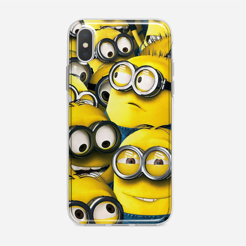 Cute Minions iPhone XS Case