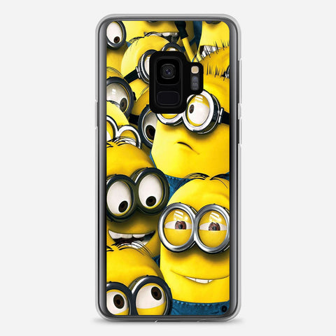 Cute Minions Samsung Galaxy S9 Case