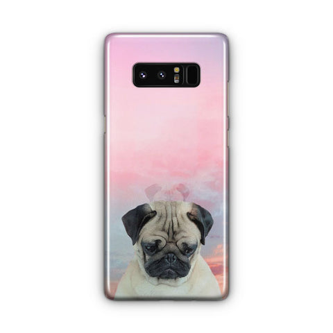 Cute Pug Samsung Galaxy Note 8 Case