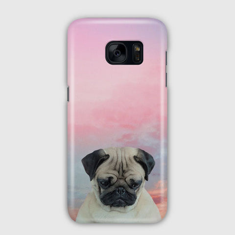 Cute Pug Samsung Galaxy S7 Edge Case