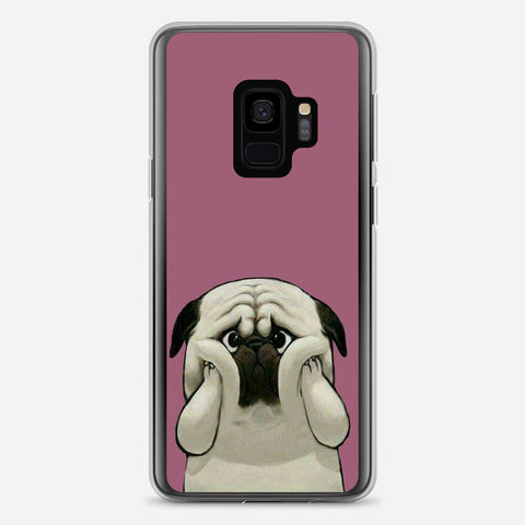 Cute Pug Dog Samsung Galaxy S9 Case
