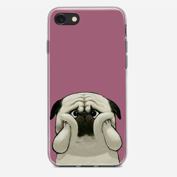 Cute Pug Dog iPhone X Case