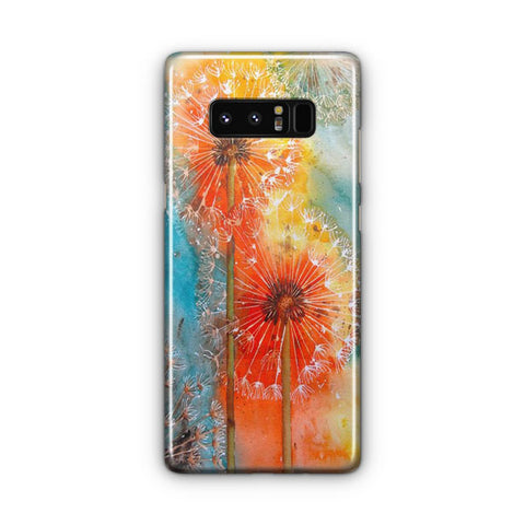 Dandelions Flowers Samsung Galaxy Note 8 Case