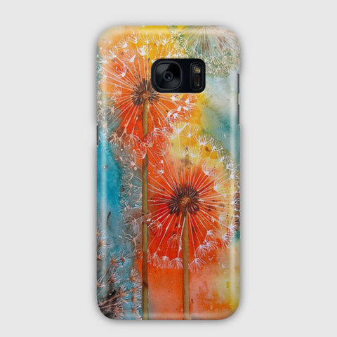 Dandelions Flowers Samsung Galaxy S7 Edge Case