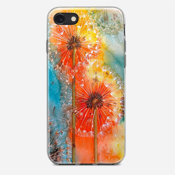 Dandelions Flowers iPhone X Case