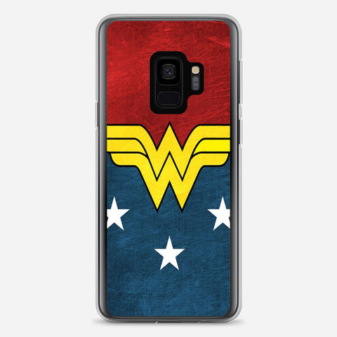 DC Wonder Woman Logo Samsung Galaxy S9 Case