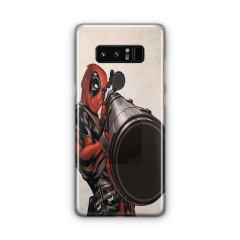 Deadpool Marvel Comic Samsung Galaxy Note 8 Case