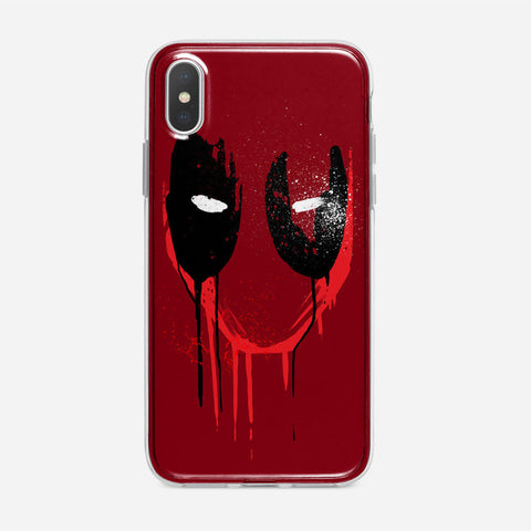 Deadpool Marvel Legends iPhone XS Case