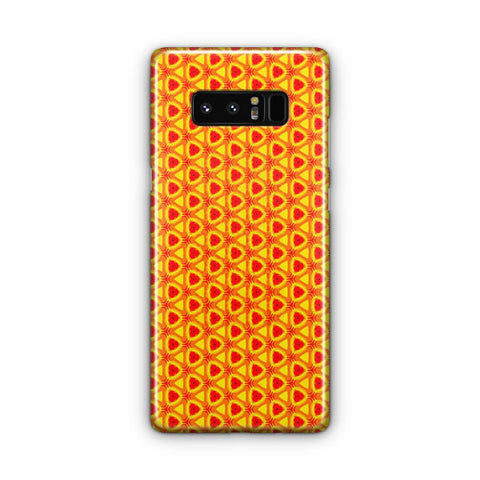 Desen Yang?n Red Samsung Galaxy Note 8 Case