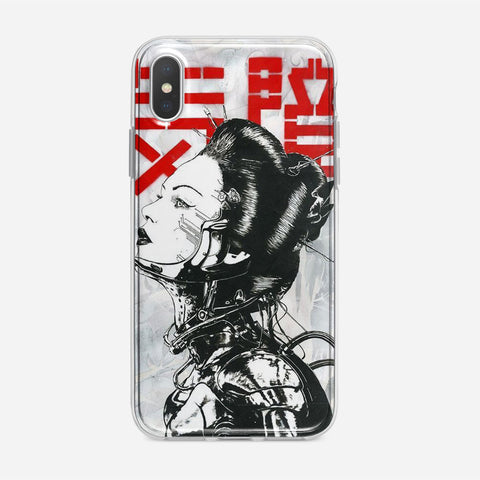 Cyborg Girl iPhone XS Max Case