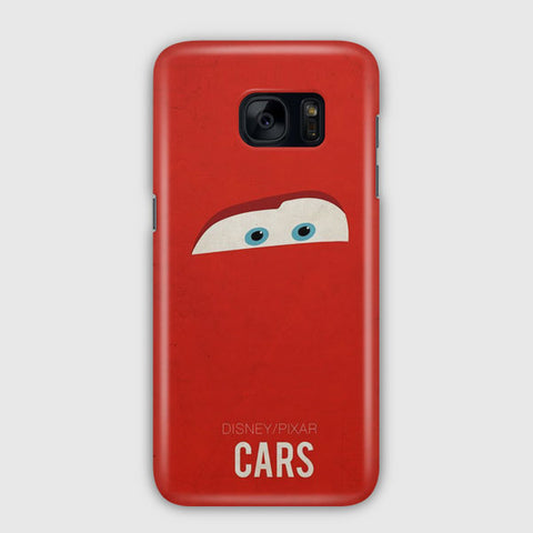 Disney Cars Poster Artwork Samsung Galaxy S7 Case