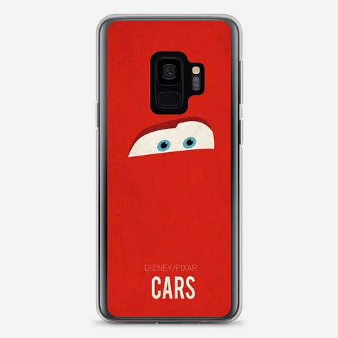 Disney Cars Poster Artwork Samsung Galaxy S9 Case