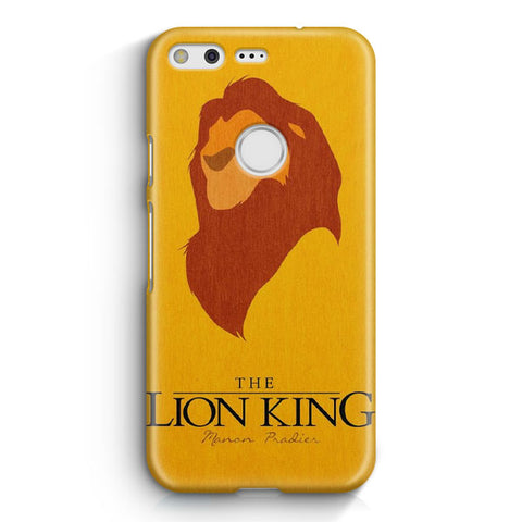 Disney Lion King Minimalist Poster Google Pixel XL Case