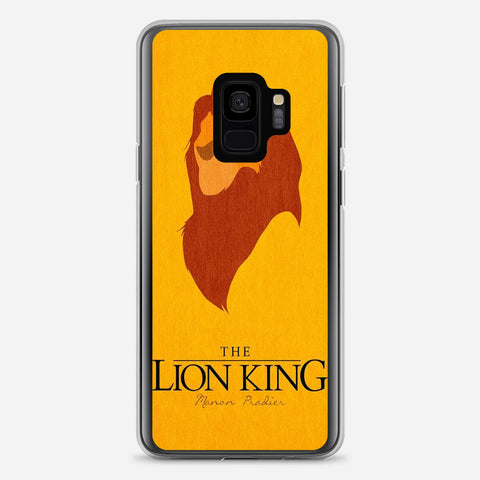Disney Lion King Minimalist Poster Samsung Galaxy S9 Case
