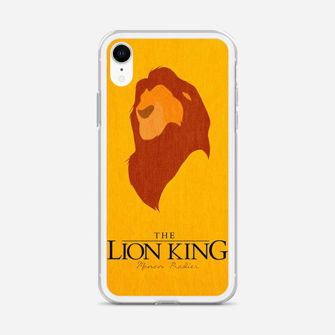Disney Lion King Minimalist Poster iPhone XR Case