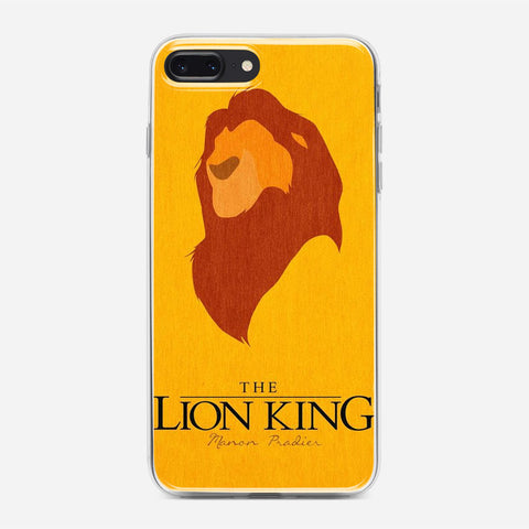 Disney Lion King Minimalist Poster iPhone 7 Plus Case