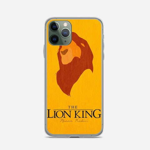 Disney Lion King Minimalist Poster iPhone 11 Pro Case