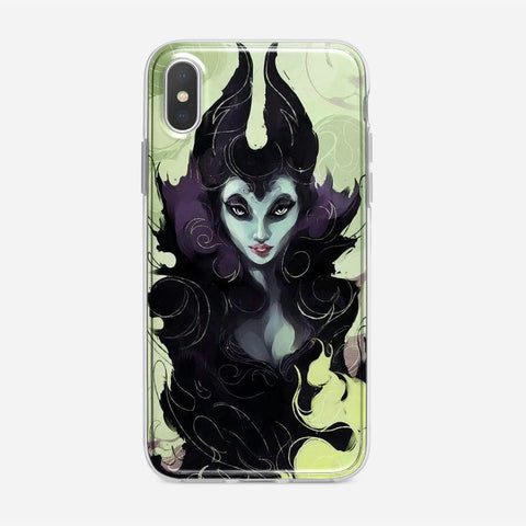 Disney Maleficent Artwork iPhone XS Case