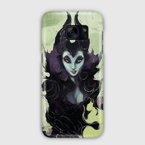 Disney Maleficent Artwork Samsung Galaxy S7 Case