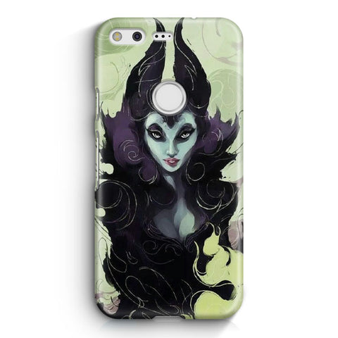 Disney Maleficent Artwork Google Pixel 3 Case