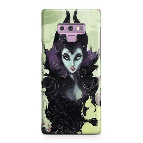 Disney Maleficent Artwork Samsung Galaxy Note 9 Case