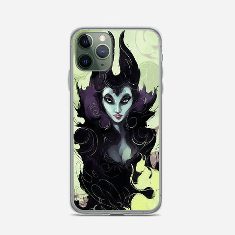 Disney Maleficent Artwork iPhone 11 Pro Case