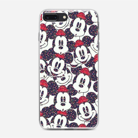 Disney Micky Mouse Pattern iPhone 7 Plus Case