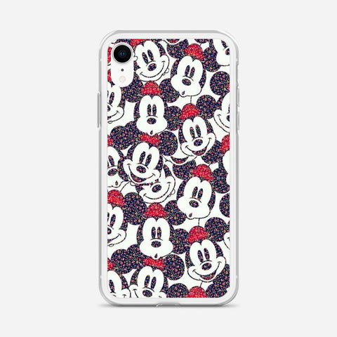 Disney Micky Mouse Pattern iPhone XR Case