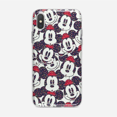 Disney Micky Mouse Pattern iPhone XS Max Case