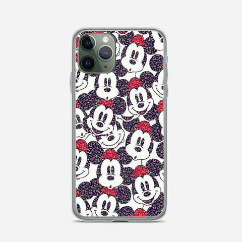 Disney Micky Mouse Pattern iPhone 11 Pro Max Case
