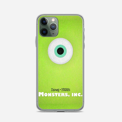 Disney Monsters Inc Poster iPhone 11 Pro Max Case