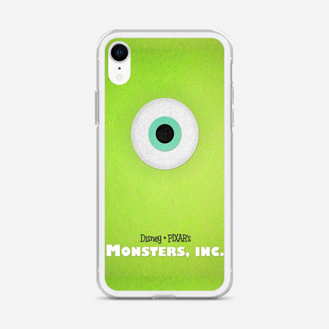 Disney Monsters Inc Poster iPhone XR Case
