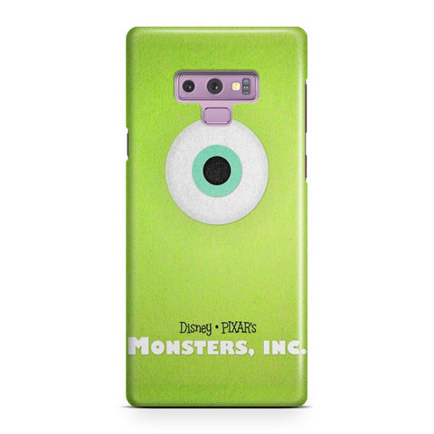 Disney Monsters Inc Poster Samsung Galaxy Note 9 Case