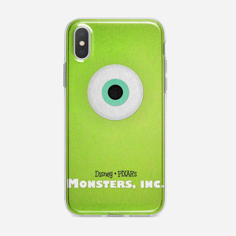 Disney Monsters Inc Poster iPhone XS Max Case