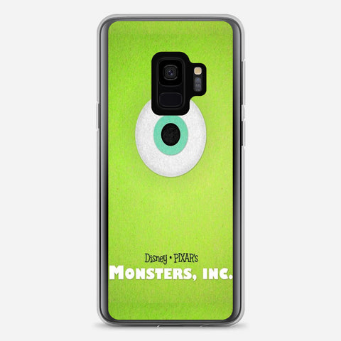 Disney Monsters Inc Poster Samsung Galaxy S9 Case