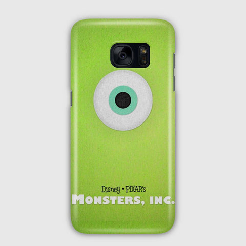 Disney Monsters Inc Poster Samsung Galaxy S7 Edge Case