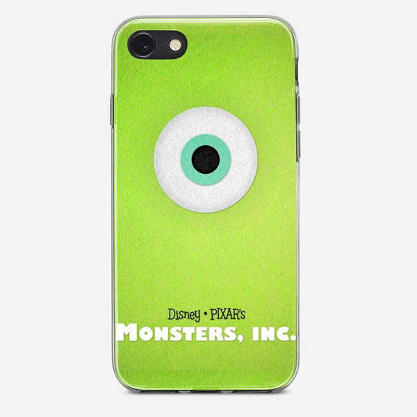 Disney Monsters Inc Poster iPhone X Case