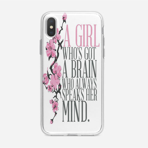 Disney Princess Mulan iPhone XS Case