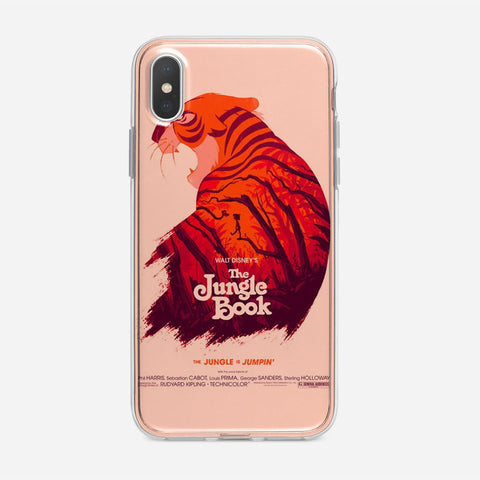 Disney The Jungle Book Poster iPhone XS Max Case