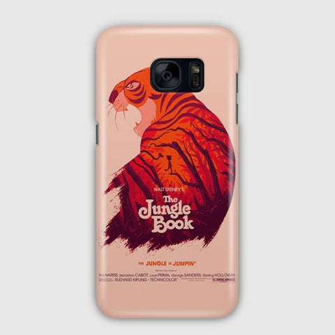 Disney The Jungle Book Poster Samsung Galaxy S7 Edge Case