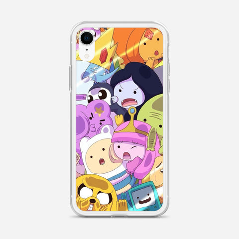 Adventure Time Artwork iPhone XR Case