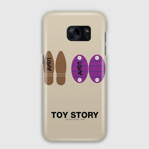Disney Toy Story Minimalist Samsung Galaxy S7 Edge Case