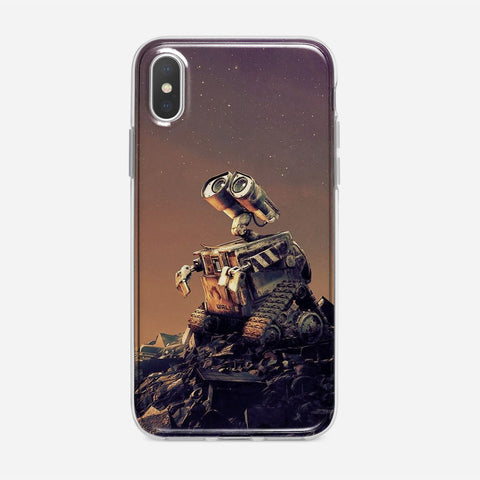 Disney Wall E Artwork iPhone XS Max Case